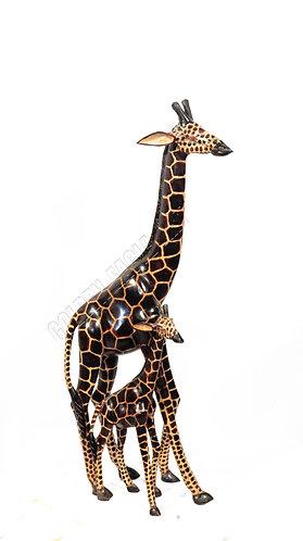 61cm inch giraffe with baby