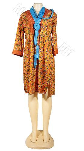 Cotton beach top dress