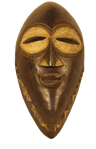African traditional wisdom mask