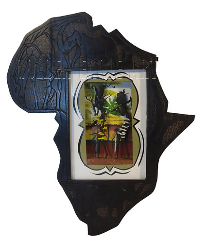 African map wall hanging