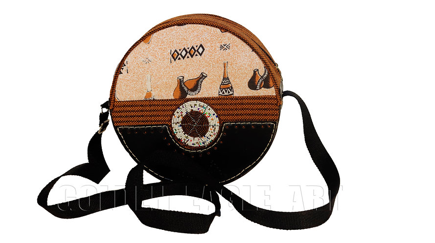 Ladies round purse