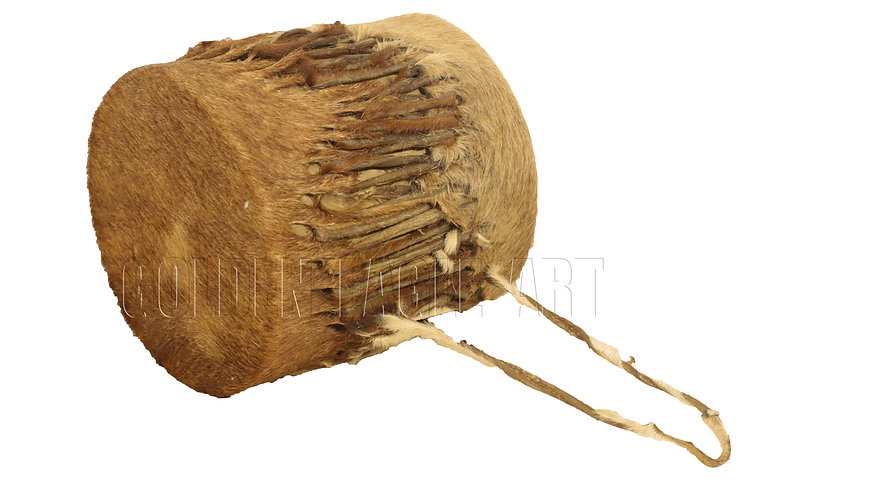 Simple African drum