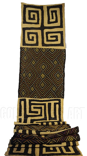 Bakuba cloth rug