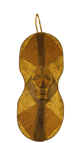 African traditional antique shield