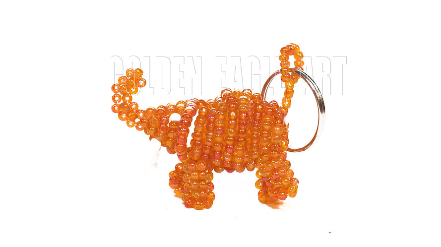 Beaded animal keyrings