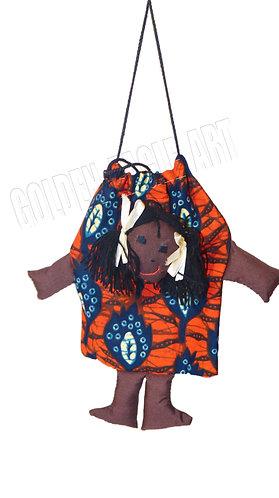 Fabric doll bag