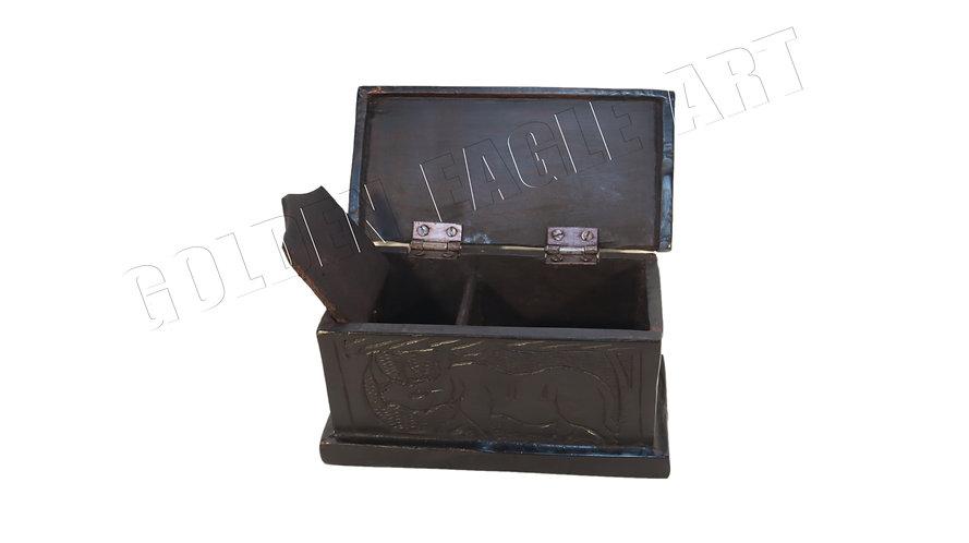 Ebony jewel box