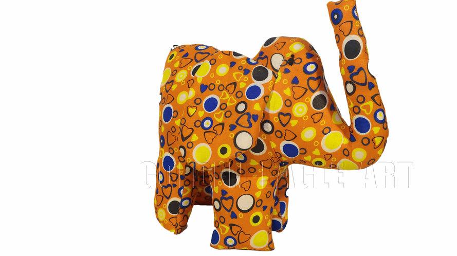 Medium fabric elephant toy