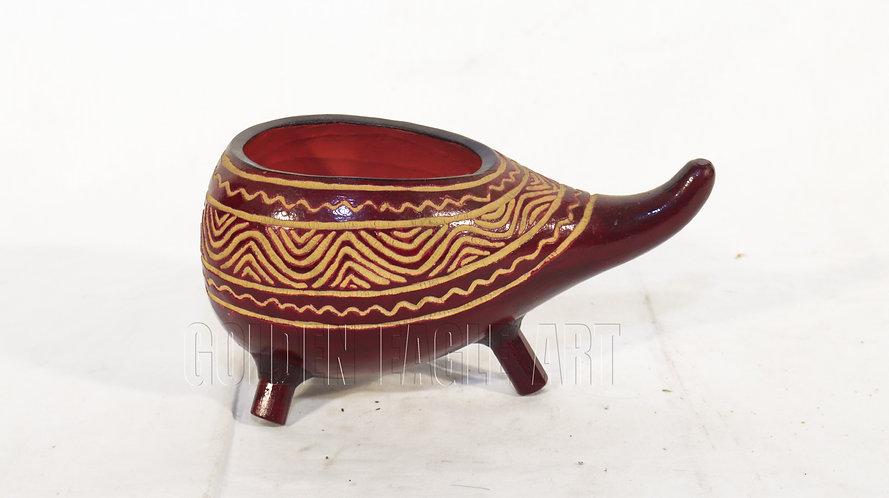African engraved calabash