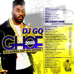 DJ GQ GHOE 2016 OLD SCHOOL RAP EDITION