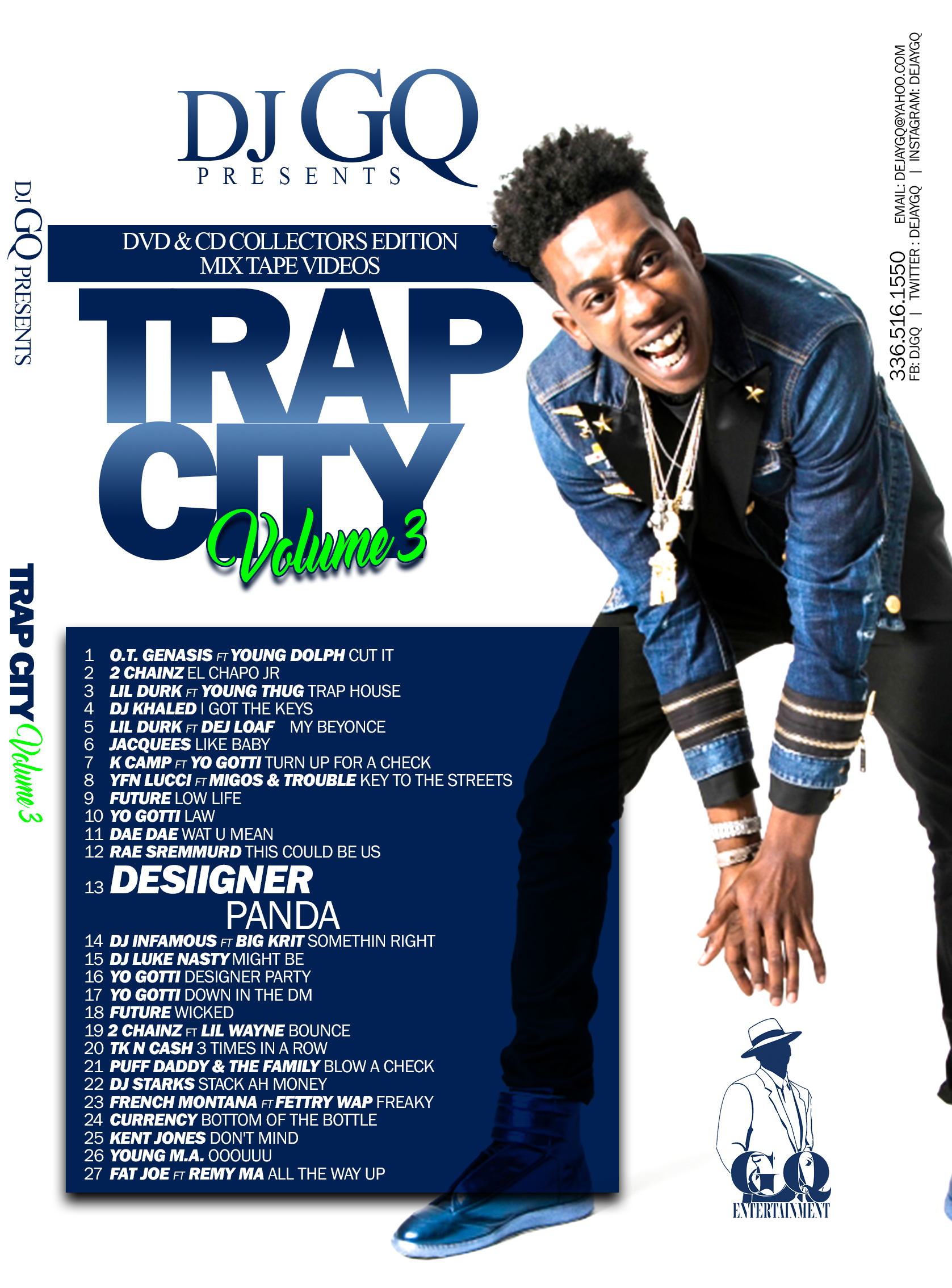 TRAP CITY VOLUME 3 DVD