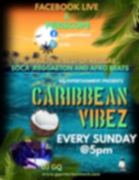Caribbean Vibez Sundays