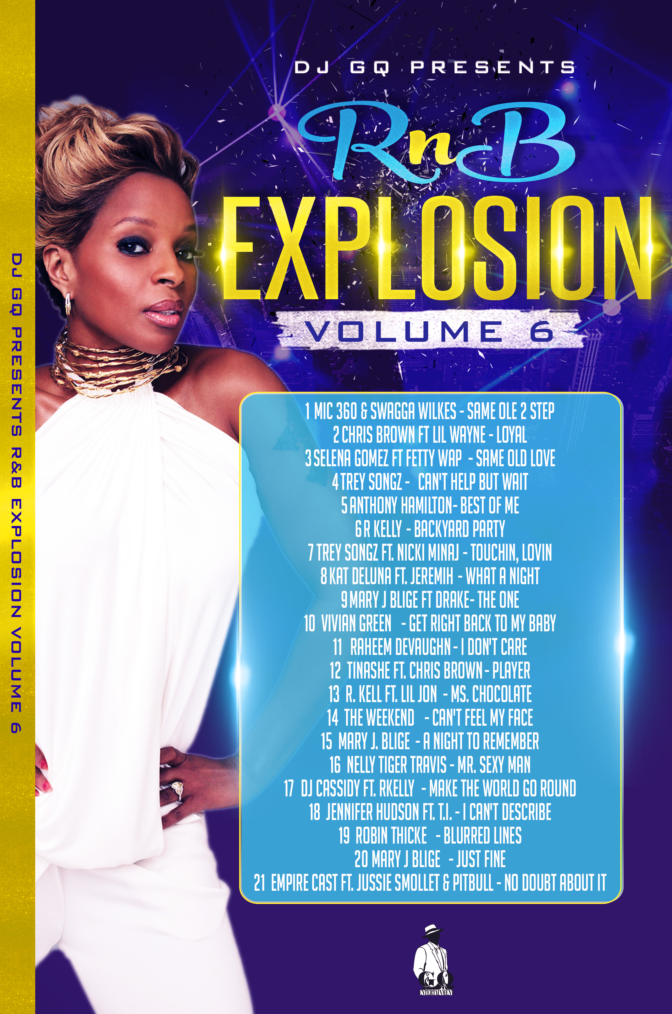 RNB EXPLOSION VOLUME 6 DVD