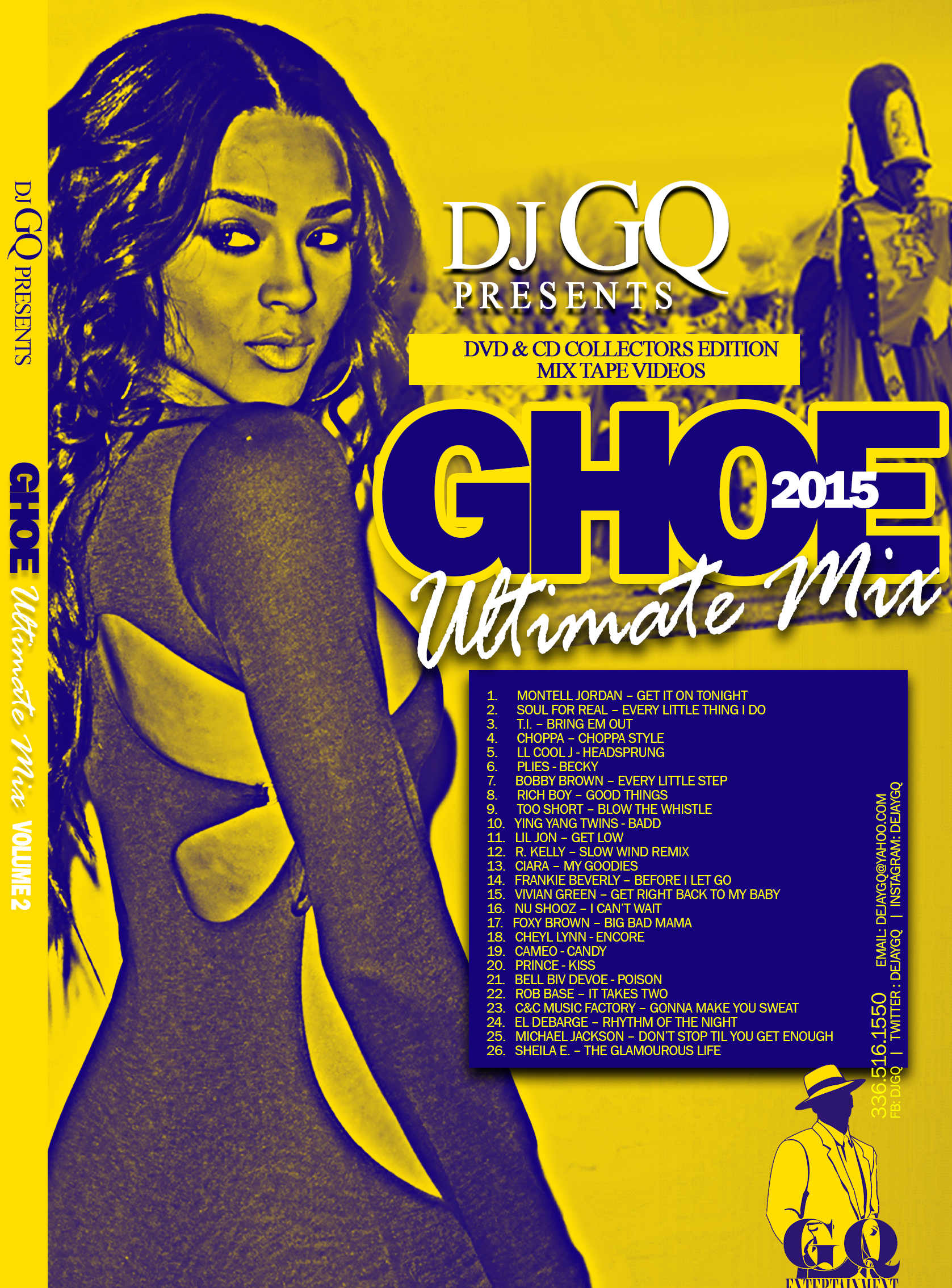 GHOE 2015 THE ULTIMATE MIX DVD