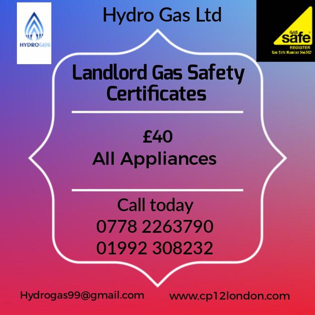 Landlord Gas Check Ware