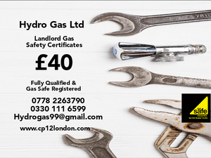 Landlord gas safety certificates inspections, gas safe engineers in your area now