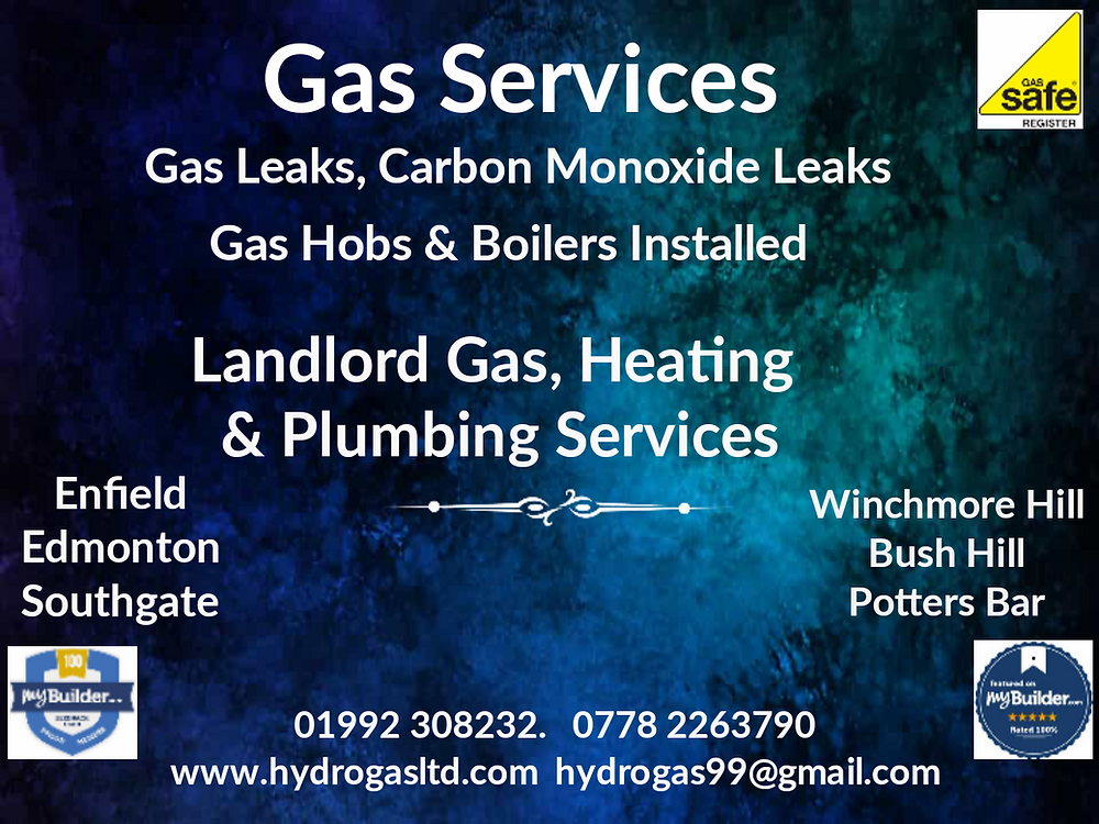 Landlord gas safety inspection Enfield, Potters Bar,Cheshunt, Ware, Hertford
