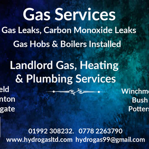 Ware Hertford Enfield Letting Gas Safe Check Certificate