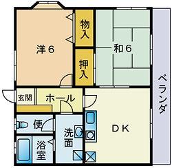 japanese layout , 2DK , 2 dinning kitchen