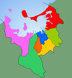 fukuoka wards map