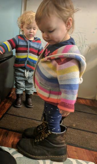 Baby in Doc Martens
