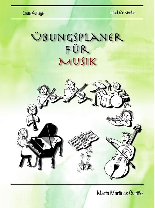Übungsplaner für Musik