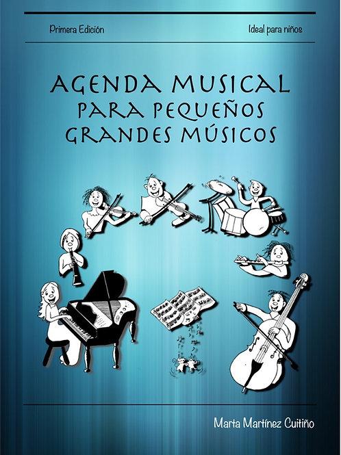 Agenda musical para pequeños grandes músicos