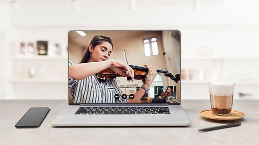 Geigenunterricht online