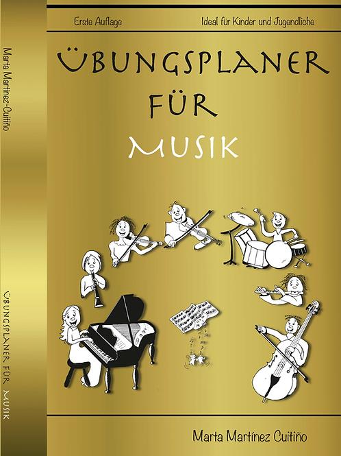 Planificador de estudio para música en alemán