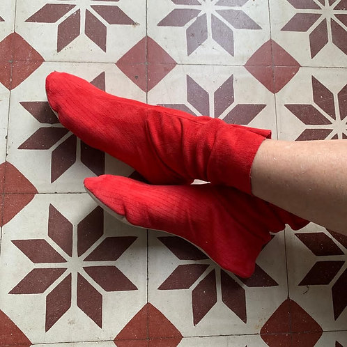 CHAUSSONS - ROUGE - 38/39