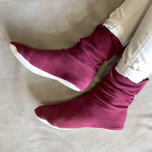 CHAUSSONS - CHERRY - 40/41