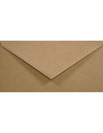 DL - Eko Kraft (perdirbto popieriaus, rudos sp.)