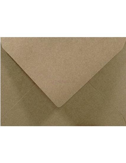 C6 - Eko Kraft (perdirbto popieriaus, rudos sp.)