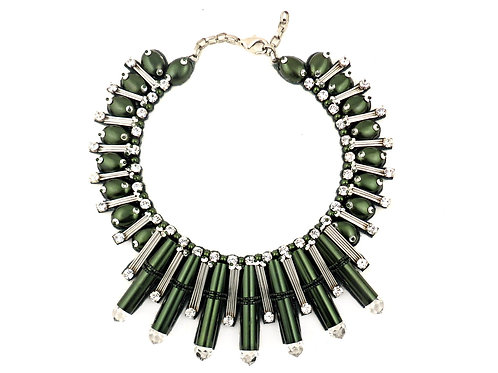 BEAUTIX NECKLACE FOREST GREEN