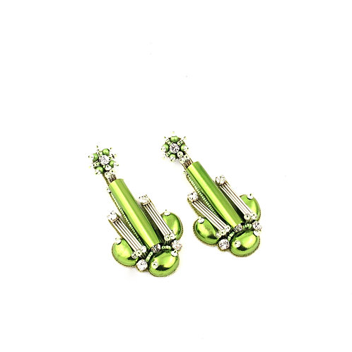 BEAUTIX EARRINGS GREEN