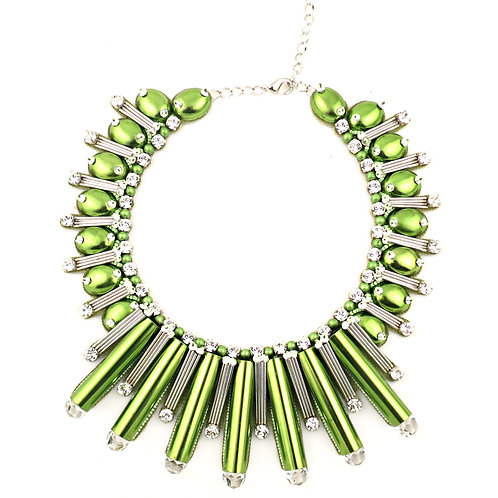 BEAUTIX NECKLACE LIGHT GREEN