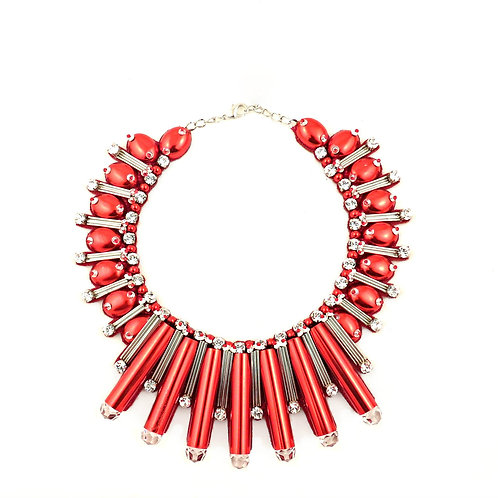 BEAUTIX NECKLACE RED