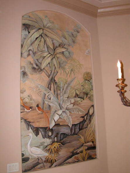 Tropical Mural