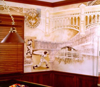Yankee Mural