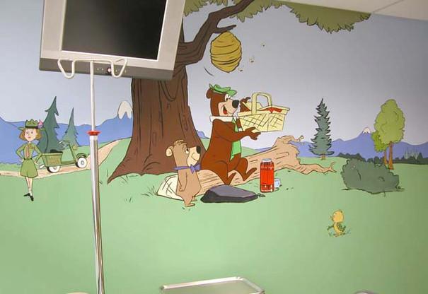 Exam room - Yogi Bear