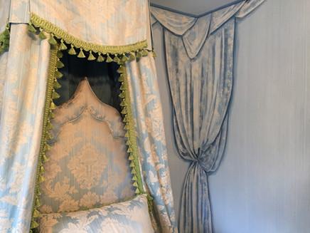 Painted drapery
