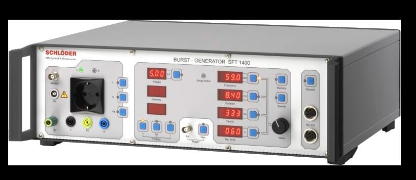 Schlöder SFT 1400 Испытательный генератор наносекундных помех