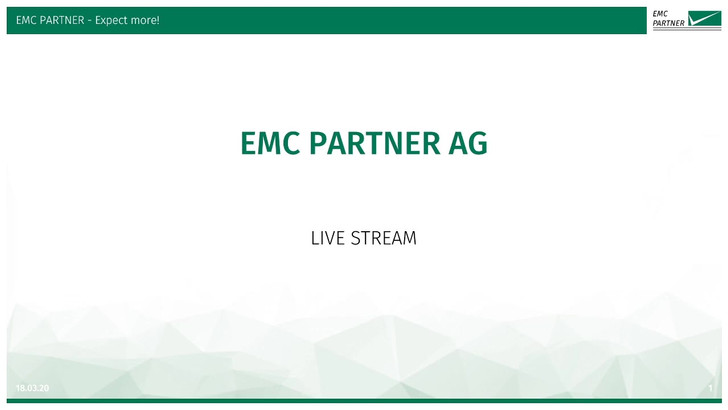 Видео EMC-Partner работы IMU-MGS