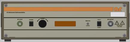 150A100D Amplifier Research передняя панель