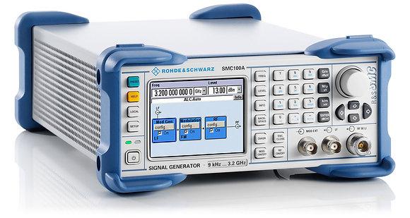 генератор сигналов SMC100A для испытаний на ЭМС