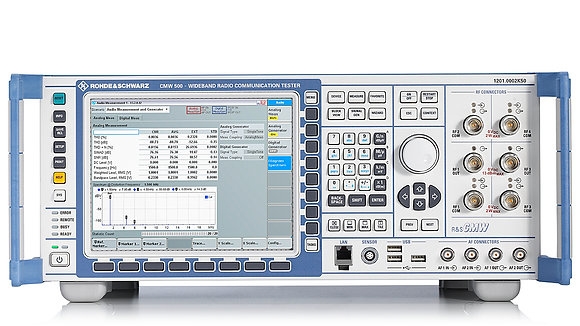 R&S®CMW500 Широкополосный радиокоммуникационный тестер