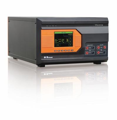 Испытательный генератор 3CTEST TPS-CS106 может генерировать импульсы с частотой до 20 Гц амплитудой до 600 В