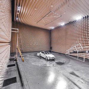 Испытательная ЭМС лаборатория для автомобилей, безэховая камера