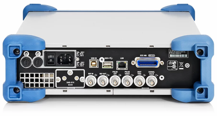 радиочастотный генератор Rohde & Schwarz SMB100A задняя панель