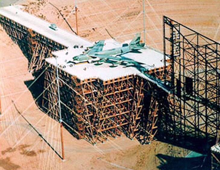 испытания бомбардировщика Б-52 на ЭМИ